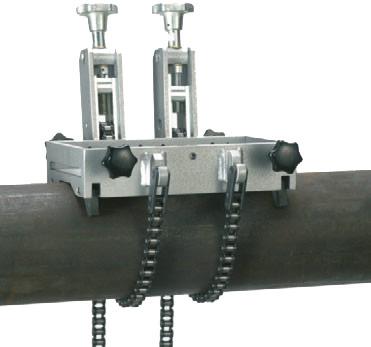 Abrazadera del tubo de diámetro 150-500 . tubos