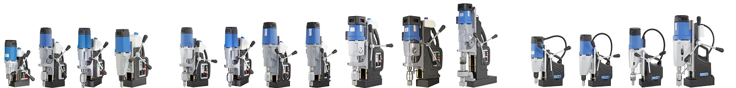 range of magnetic drill press