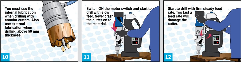 Guía profesional para usar la prensa de taladro magnético