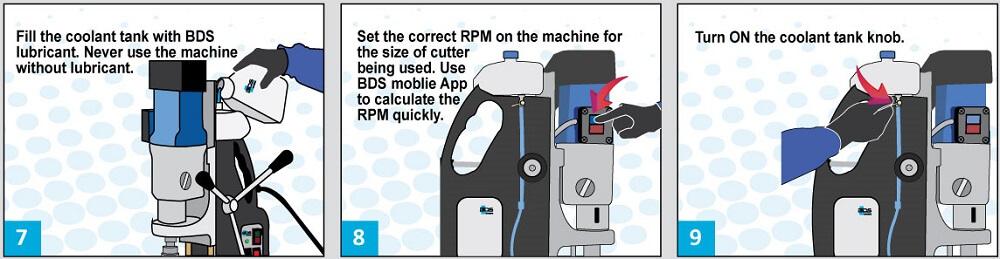 Guía profesional para usar máquinas de perforación magnéticas